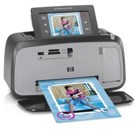 HP Photsmart A646 Compact Photo Printer