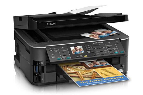 Epson WorkForce 630 Wireless All-in-One Printer